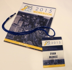 My Second Custom Workbook & Forth Badge Working at Healthegy for OIS@AAO 2015