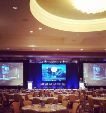 Digital Signage for Healthegy's OIS Event – Multiple sizes & screens were also created for the event