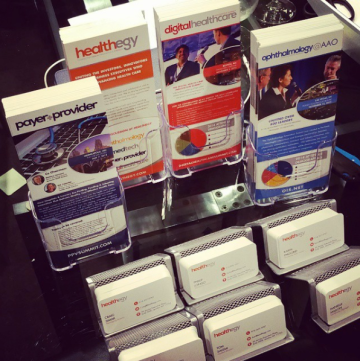 Healthegy Conference Rack-Cards