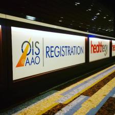 Healthegy's OIS@AAO Registration Signage