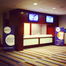 X-Frame Signage for OIS Media at OIS@AAO in Chicago