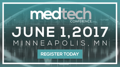 Healthegy's Medtech Conference Digital AD for 2017