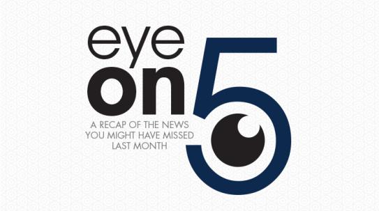 Healthegy's OIS Monthly Eye on 5 Logo & Digital AD Created for Healthegy