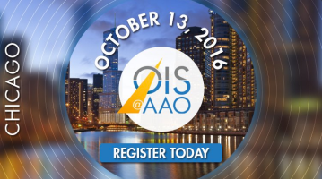 OIS Branding for multiple events in 2016 – Digital AD for OIS@AAO in Chicago