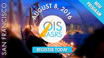 OIS Branding for multiple events in 2016 – Digital AD for OIS@ASRS in San Francisco