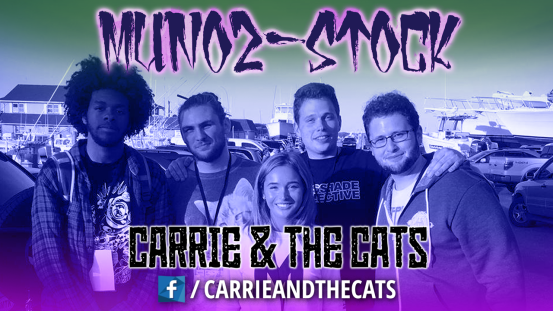 Munoz-Stock - Carrie & The Cats - 2017 - Long Island Music / Art / Video Game Festival
