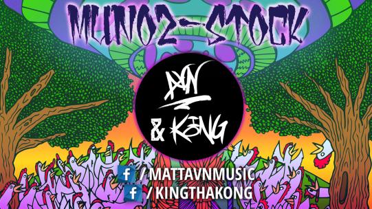 Munoz-Stock - AVN & K.O.N.G. - 2017 - Long Island Music / Art / Video Game Festival