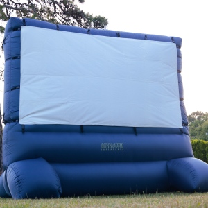 Giant 12' Foot Projection Screen ~ Long Island, New York ~ Munoz Stock Rentals