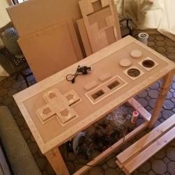 DIY-Giant-NES-Controller-Play-on-Raspberry-Pi-Custom-LED-Build-by-Evan-Munoz-for-2019-Munoz-Stock-Long-Island-NY
