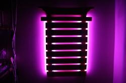 Laser-Engraved-Wooden-Karate-Belt-Holder-LED-Lights-Pink