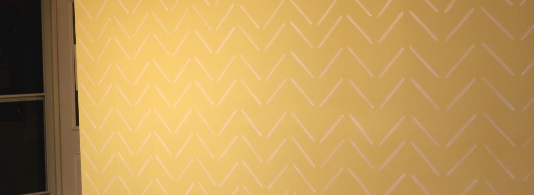 Chevron-Home-DIY-Accent-Wall-Evan-Munoz-Long-Island-NY-2020